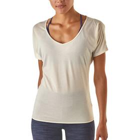 Patagonia W's Mindflow SS Shirt Birch White
